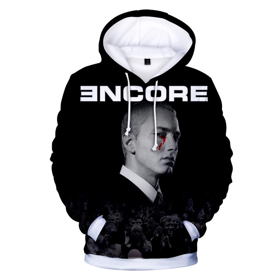 Aliexpress.com  Comprar EMINEM famoso rapero 2018 Hip Hop Hoodies mujeres  hombres de manga larga moda 3D impreso sudaderas con capucha Casual ropa  más ... 93fee8988f4