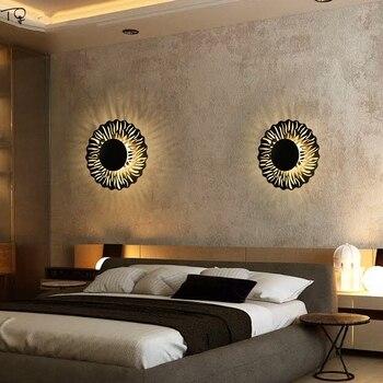Nórdico De Lujo Cálido Romántico Moderno Lámpara De Pared Simple Mesilla De Noche Led Dormitorio Pasillo Escaleras Luz Decoración Interior Del Hogar
