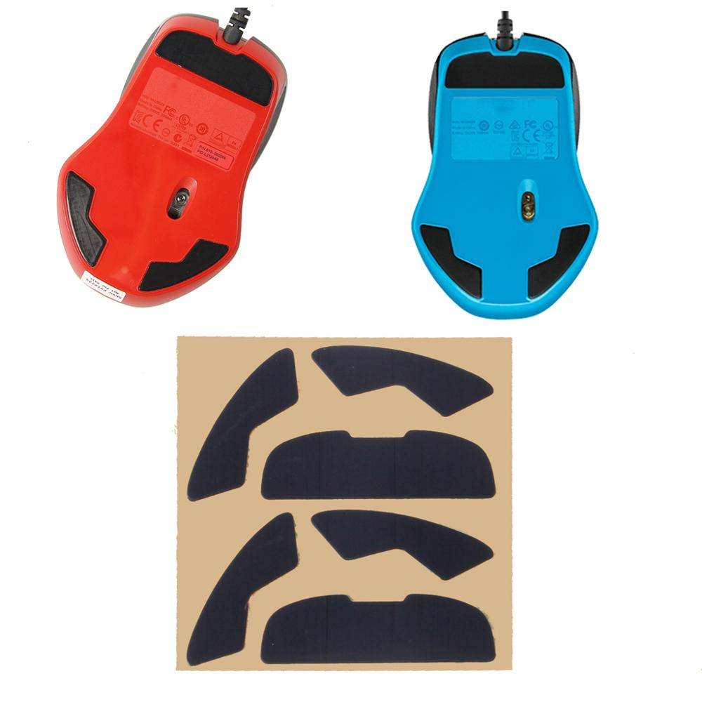 2Sets Hotline Games Competition Level Teflon Mouse <font><b>Feet</b></font> Mouse Skates Gildes for Logitech All Series <font><b>G700</b></font> G300S G600 Laser Mouse image