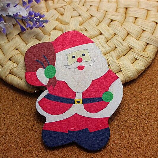 ᓂfree Shipping 50pcs/lot Kawaii ᐃ Santa Santa Claus Planar