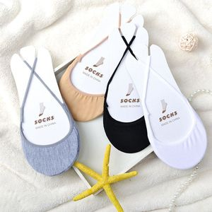 1 Pair Women Cotton Soild Half Sole Cover Invisible Sock Slippers Breathable Summer Style Girls Female Socks