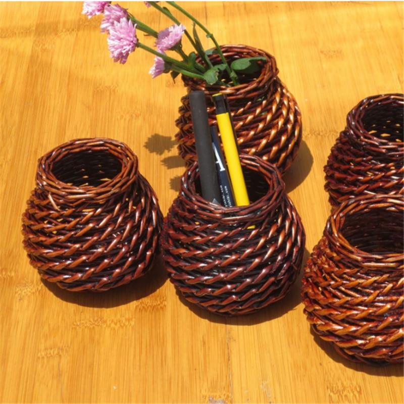 Pu\'er Tee Tuo Mini verpackung box, tee box kleine bambuskorb ...