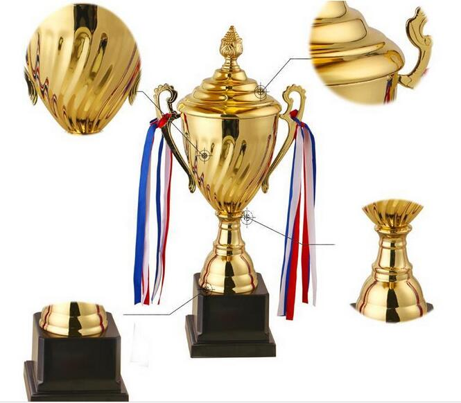 Customized 35CM height Game celebration craft awards prizes Marathon Trophy