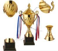 Customized 35CM height Game celebration craft awards prizes Marathon Trophy