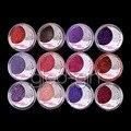 12 Hoja de Color Purpurina En Polvo Sombra de Ojos Cosméticos Sombra de Ojos Maquillaje Set #3