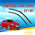 "Escovas Para VW VOLKSWAGEN POLO (2001-2005) 2002 2003 2004 Car Windscreen Windshield Wiper Blade Wiper 21 ""+ 19"" Carros estilo"