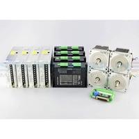 4 Axis CNC Kit 4.5Nm(637oz.in) Nema 34 Stepper Motor & MA860H Driver CNC Router Mill Kits