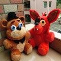 """В наличии официальный пять ночей на фредди 4 FNAF рыжий фредди Fazbear плюшевые игрушки куклы 10 """" детские игрушки рождественский подарок"""