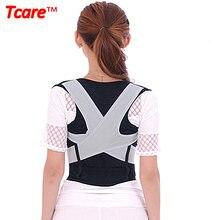 Купить с кэшбэком 1 Pcs M-XL Unisex Back Shoulder Posture Corrector Health Care Pain Relief Back Support Back Belt