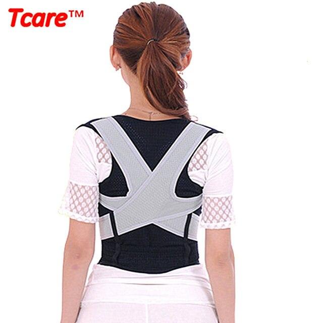 Tcare Unisex Back Shoulder Posture Corrector Health Care Pain Relief Back Support Back Belt M-XL