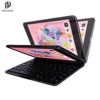DUX DUCIS Flip Wireless Keyboard Case for iPad Mini 5 2019 Bluetooth Keyboard Tablet Cover for iPad Mini 5 2019 Mini 4 7.9 inch