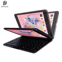 DUX DUCIS Flip Wireless Keyboard Case for iPad Mini 5 2019 Bluetooth Keyboard Tablet Cover for iPad Mini 5 2019 Mini 4 7.9 inch