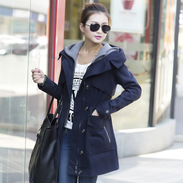 Overcoat Autumn Clothing Patchwork Piece Female 2013 Two Casual Faux aqTnz