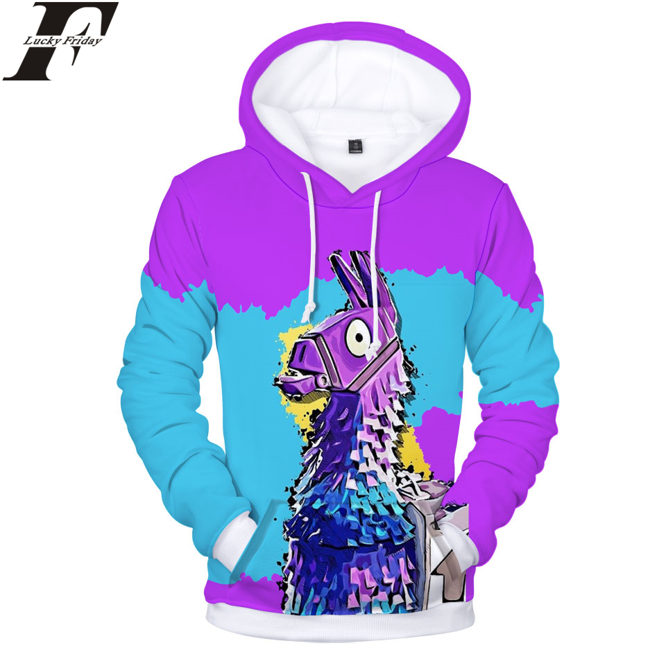 LUCKYFRIDAYF Fortnite Hoodies Game 3D Print Harajuku Women/Men Sweatshirts Hip Hop Hoodies Sweatshirt Men/Women Game Clothes 4XL