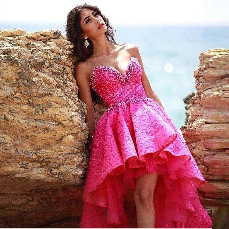 Excelente Vestido Largo O Corto Para El Prom Colección - Ideas de ...