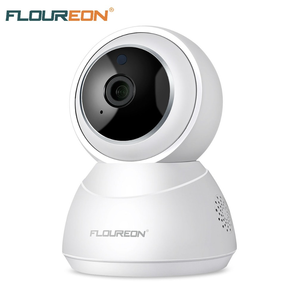 FLOUREON caméra de sécurité ip YI Nuage 1080 P HD Sans Fil PTZ Intelligent de Suivi vision nocturne 2-Façon Audio moniteur pour bébé WiFi Caméra HD