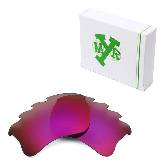 MRY POLARIZADO Sunglasses Ventilados Lentes de Repuesto para Oakley Flak Jacket XLJ Sol de Medianoche