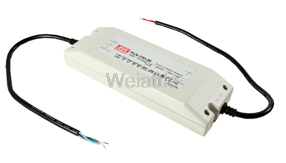 [Cheneng]MEAN WELL original PLN-100-24 24V 4A meanwell PLN-100 24V 96W Single Output Switching Power Supply