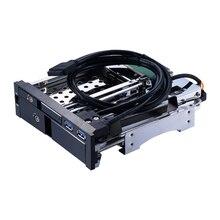 Uneatop ST7224UB 2.5+3.5 inch Dual Bay 2-bay SATA HDD Rack Enclosure