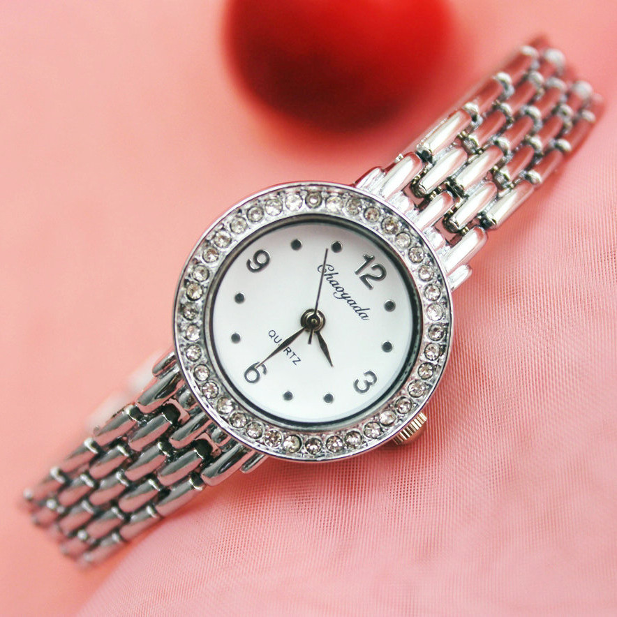 Relogio Feminino 2016 Female Watches Women Wrist Luxury Ladies Casual Quartz Watch Clock Women's Bracelet Watch Montre Femme mjartoria ladies watches clock women quartz watch simple sport bracelet watch student girl female hand wrist watches for women