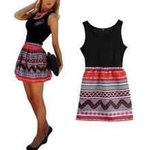 Sexy Women Summer Cute Dress Casual Short Sleeveless Mini Dresses