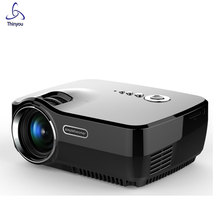 Thinyou LED Home Theater Projector maltimedia Upgrade Version Built-in Diplay  Native Resolution Mini HD Video Beamer