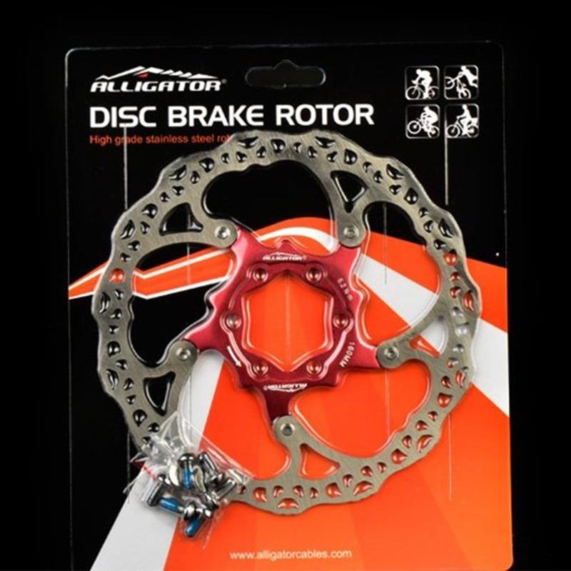 Free shipping Ultra light 6 /160mm MTB MOAI steel Road bike disc brake rotor with 6 bolts160mm mountain bike disc brake disk rockbros titanium ti bike bicycle disc brake rotor bolt m8 x 20mm t40 12pcs bolts screws
