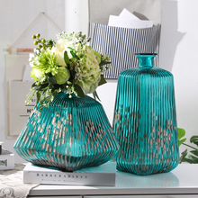Nordic high quality glass vase Manual blowing Art vases Home Decorations accessories hydroponic container Wedding Gifts
