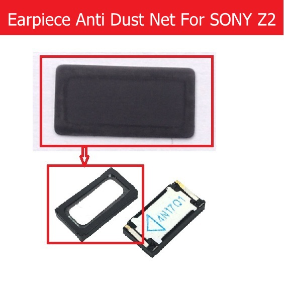Genuine Earpiece Louder Anti Dust Net For SONY Xperia Z2/Z4/X/XP/Z5 Premium/Z3 Mini/z5 Compact Ear Speaker Dust-proof Grill Mesh