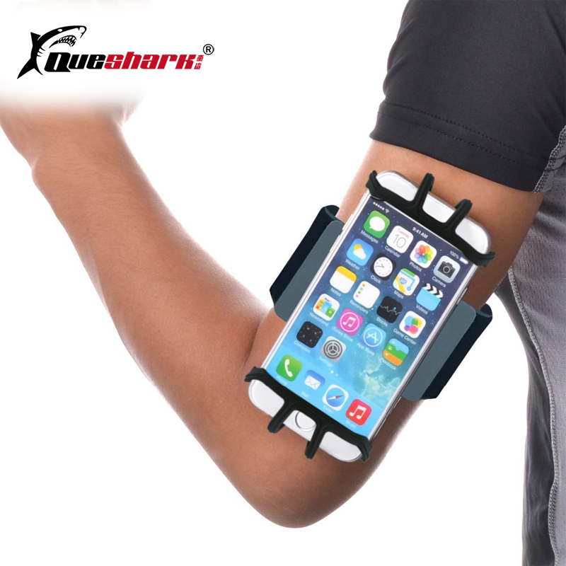 Running Armband Bag Sport Silicone Band Phone Holder For Exercise Gym Cycling Jogging Fitness Cellphone Sportband Bag+Key Holder