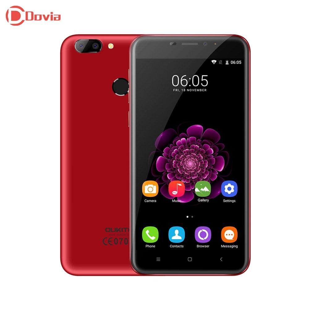 bilder für Chinesische rote oukitel u20 plus 4g smartphone 5,5 zoll mtk6737 Quad Core 2 GB RAM 16 GB ROM 5.0MP 0.3MP + 13.0MP Kameras Mobile telefon