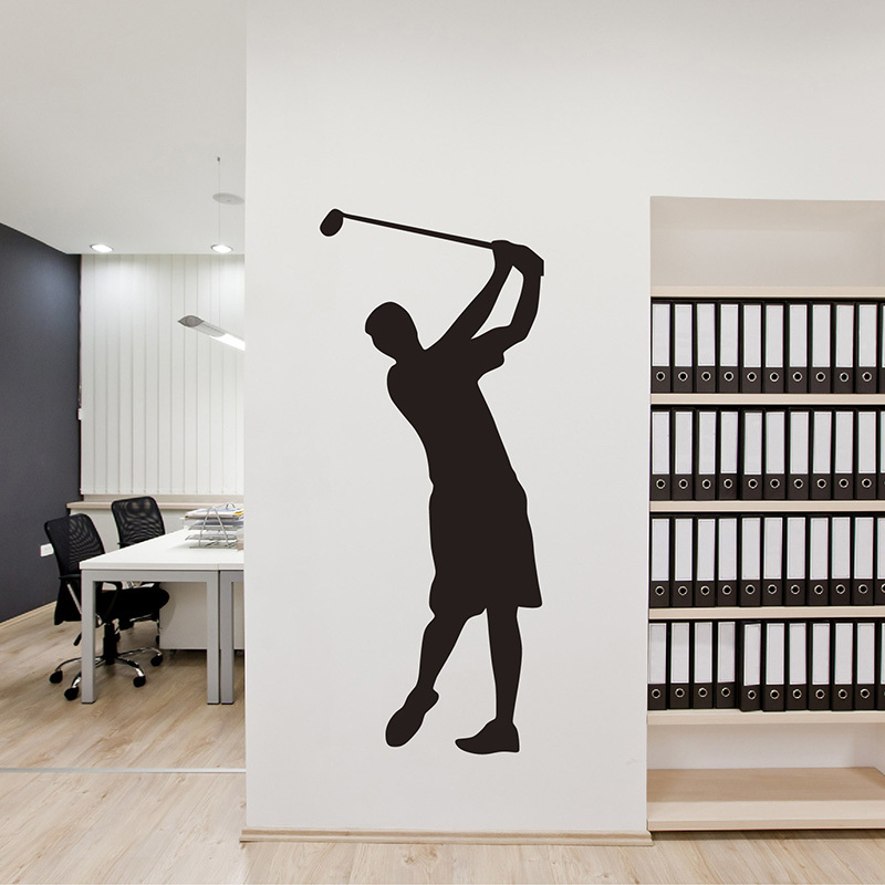High Quality Golf Man Wall Sticker Golf Wall Decal DIY Removable Sport Wall Decals Vinyl Wall  Art S24 In Wall Stickers From Home U0026 Garden On Aliexpress.com | Alibaba ...