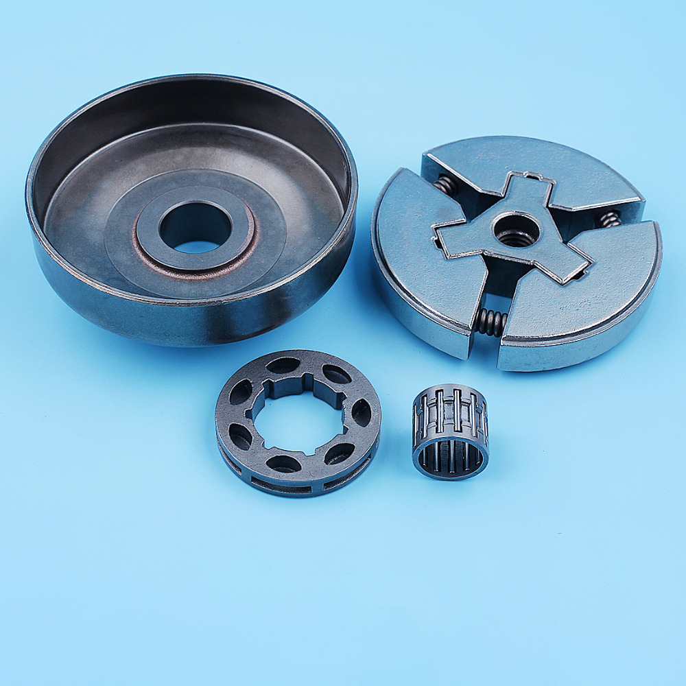"""Image 5 - 3/8"""" Clutch Drum Bell Rim Sprocket Bearing Kit For Husqvarna 51 55 Rancher 50 Special 154 254 Chainsaw Replacement Spare PartsChainsaws   -"""
