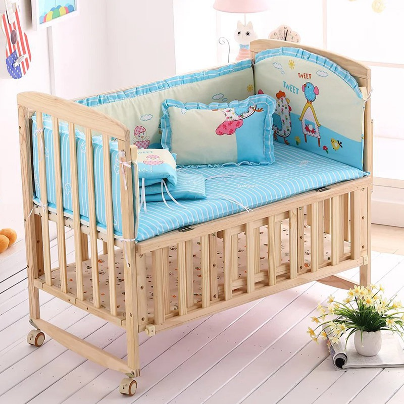 Breathable Baby Mattresses Baby Bed Cartoon Bedding Sets Backrest Pillow for Bed Bedding Rest Comfortable Pillow Size S/L