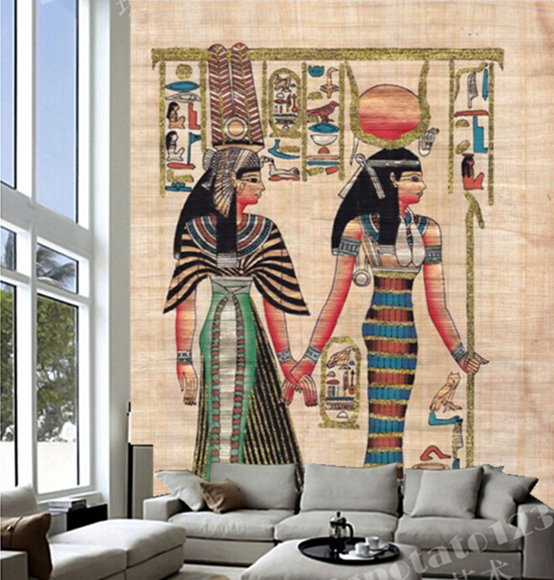 Custom 3D large mural,Ancient Indians wallpaper papel de parede ,living room tv wall bedroom wallpaper