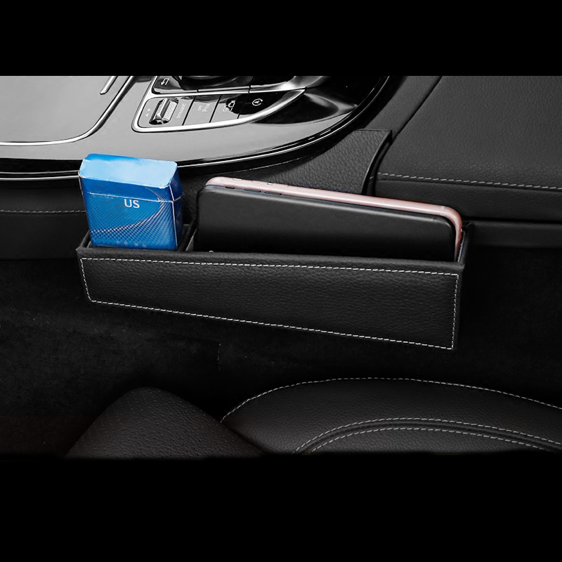 For Mercedes Benz E Class W213 2016-18 Left hand drive Inner Gear Shift Side Armrest Box Storage Holder Phone Box Accessories
