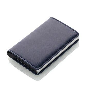 Αντρικό card holder business με σύστημα rfid