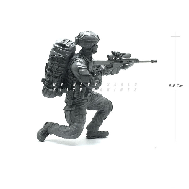 tobyfancy 1/35 modern u.s army seal commando attacker military