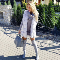 Women Faux Fur Vest MT0755