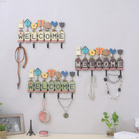 country retro originality solid wood clothes hook hallway bedchamber toggery Shop wall coat hanger clothing pothook