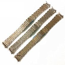 Fortiansuoli Rock Steel Watch Belt T417 Pearl Solid Stainless Arc 19mm