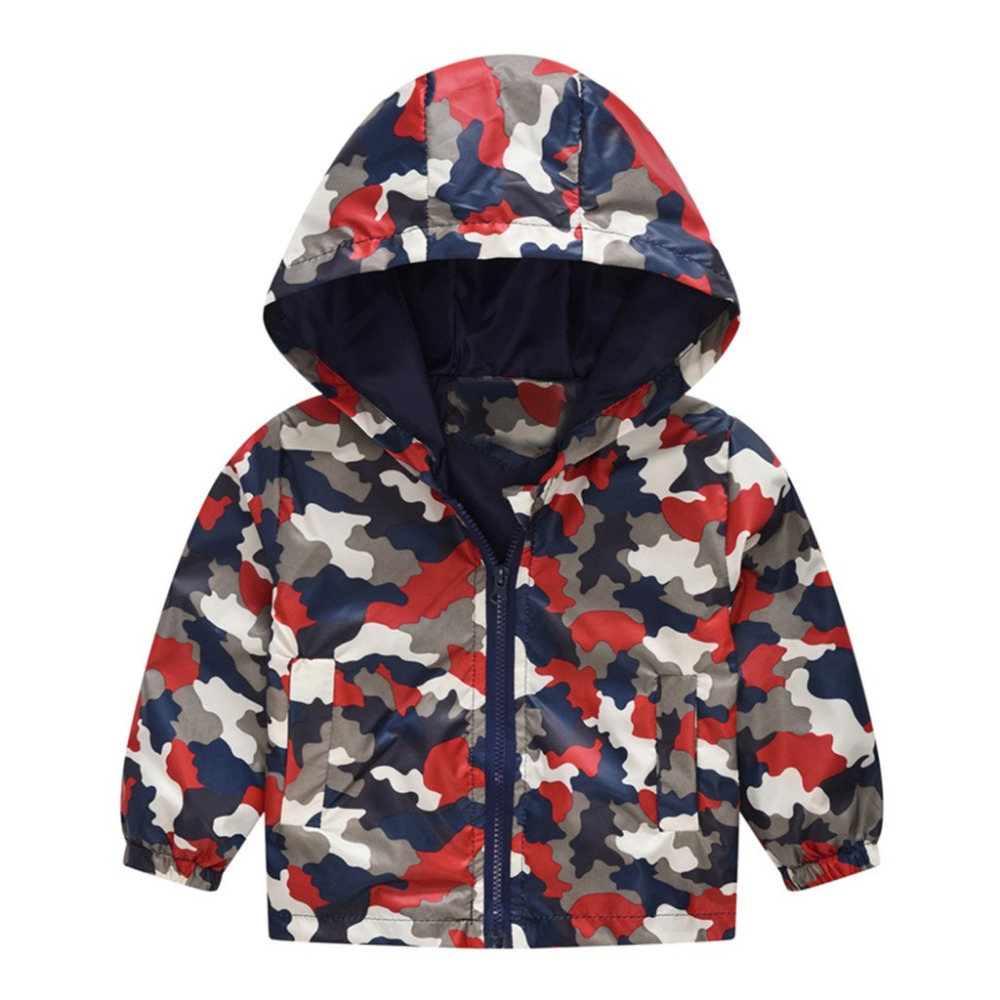 c5c0d3f5c69c3 Toddler Kids Baby Girls Boys Camouflage Butterfly Spring Hooded Coat Jacket  Tops