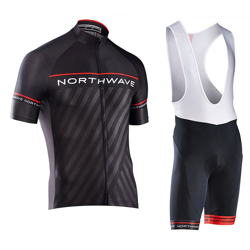 2018 New NW All Gel Lycra Green Cycling Jersey Ciclismo Ropa ciclismo Bike Clothes Suit Bicycle Racing Clothing Quick Dry Set