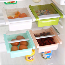 Multi – function pull – type refrigerator fresh storage storage box tic section storage box storage rack Kitchen Accessories