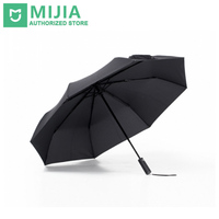 Xiaomi Mijia Automatic Folding And Opening 420g AluminumUmbrella Windproof Man Woman Waterproof For Winter Summer