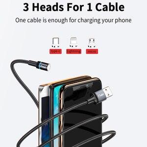 FPU Магнитный кабель Micro USB Type C для iPhone кабель 1 м 2 м 3 А Быстрая зарядка шнур провод Type-C магнит зарядное устройство мобильный телефон кабели