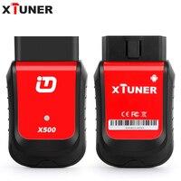 En düşük fiyat XTuner X500 Android sistemi Araç Tarayıcı Teşhis Aracı OBDII ABS Pil DPF EPB Yağ TPMS IMMO Anahtar Enjektör sıfırlama