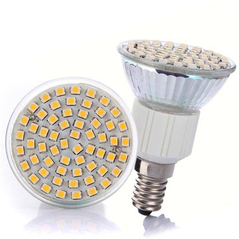 Cool White Energy Saving Light Bulbs: LED Light Bulb E14 4W 3528SMD 60led Spotlight Bulbs Energy Saving Lamp Bulb  Cool White Warm,Lighting