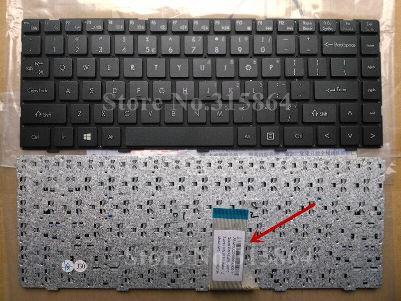 США Новая Клавиатура ноутбука для Шэньчжоу Q480S UN43 UN45 K470N-M10 7G-U 7 г-5 H 7G-5I 7 г-5 S английская раскладка