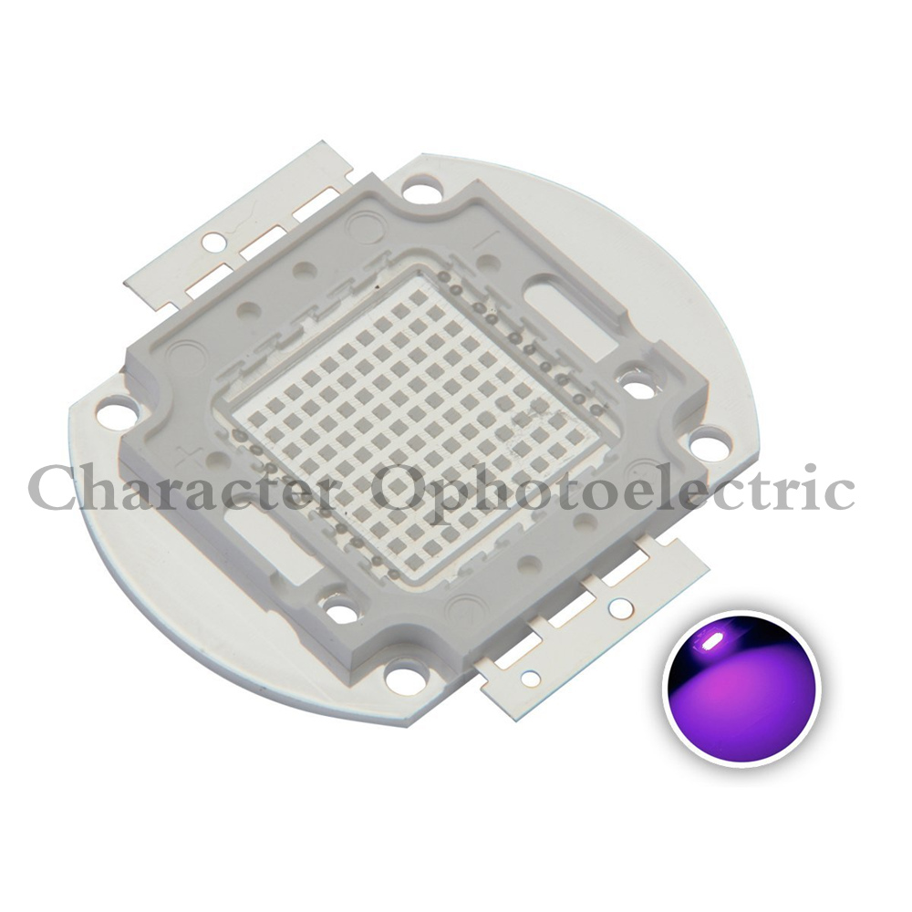 High Power LED Chip 45Mil 100W 200W 300W 500W Ultra violet UV 395-400NM high power 100w led chip 100lm 120lm 390 400nm uv led bulb lamp light chips 45 45mil free shipping